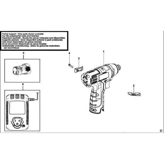 Black & Decker HPL10IM Spare Parts List Type: H1