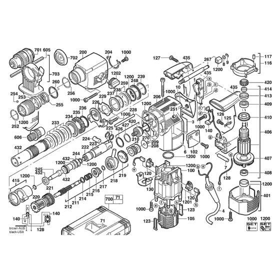 AEG PN3500X WOBBLE DRIVE  Item discontinued (4931331618) Spare Part Serial No: 4000365174