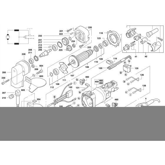 Milwaukee S2,5 Spare Parts List