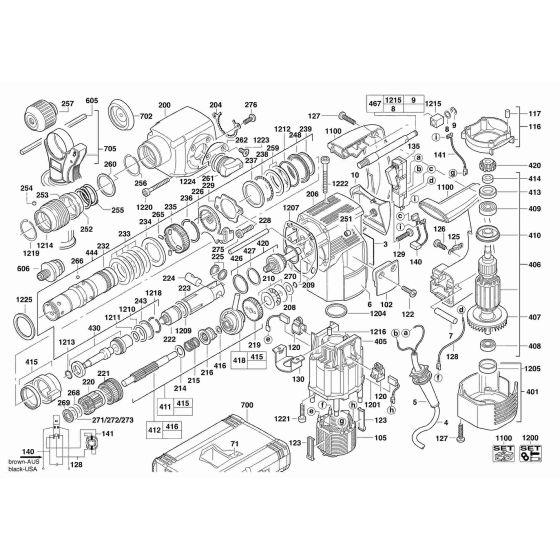 AEG PN3500X WIRE  4931624269 Spare Part Serial No: 4000384762