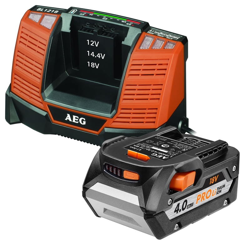 AEG Batteries & Chargers Category